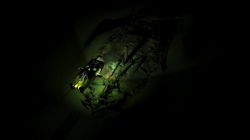 5_Byzantine shipwreck being surveyed by MMT Surveyor ROV