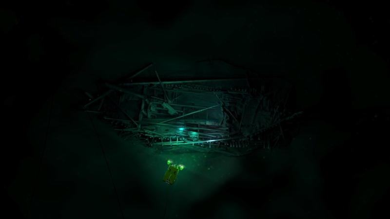 7_Ottoman shipwreck found in 300m of water in Bulgarian Black Sea with overlaid ROV