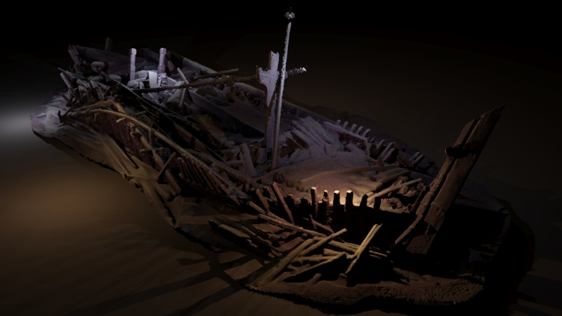 3_Ottoman period shipwreck presenting unique preservation in wood carvings