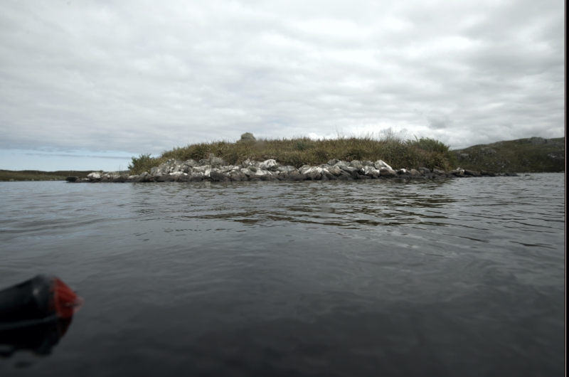 Islet from the water